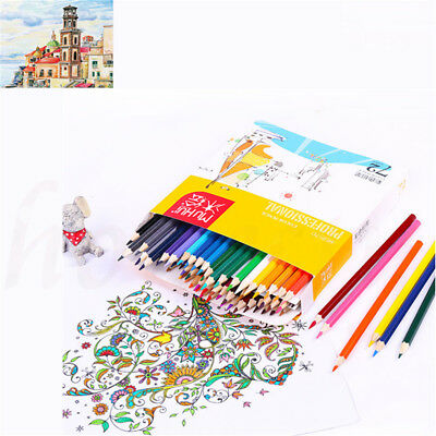 72 Colors Fine Art Drawing Non-toxic Painting Oily Pencils Set For Artist Sketch
