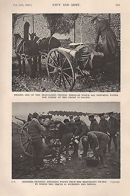 1915 Ww1 Drinking Water Travelling Filters 2 Images
