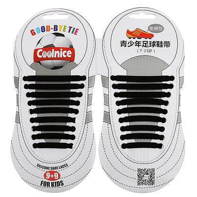 Lazy Adults No Tie Elastic Silicone Shoelaces Multicolor Shoe Laces -07
