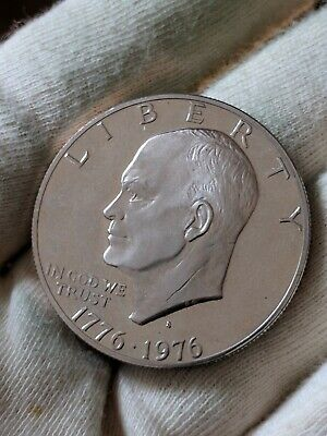 USA 1976 Ike Dollar Proof Coin Type 2