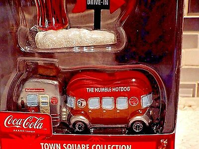 """Coca Cola Brand """"the Humble Hotdog & Signage"""" Town Square Collection"""