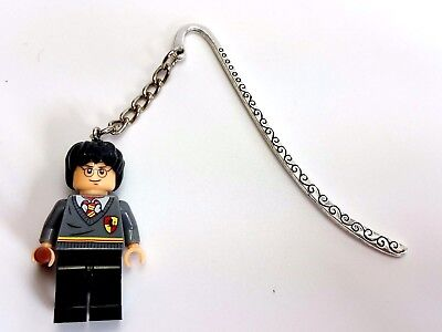 HARRY POTTER Minifigure Bookmark Charm, Perfect Gift for Christmas stocking UK