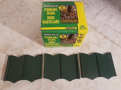 NEW IN BOX Master Mark 97310 Border Master Poundable Edging, 10', Green