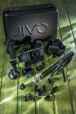 Jivo GoGear 11-in-1 Kit + 32GB TF 95MB/s for GoPro Hero 5 4 3+ Session 4K Video