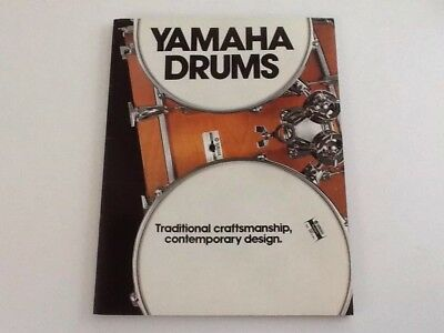 Vintage Musical Instrument Catalog Yamaha Drums 43 Pages Yd 9000 Yd 7000