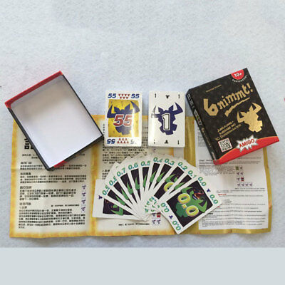 6nimmt Game Playing Card Family Fun Intelligence Puzzle Party Colorful Durable