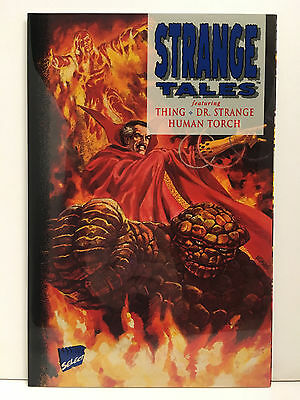 Strange Tales (1994) #1 68 Page One-Shot Dr.strange Thing Human Torch Marvel