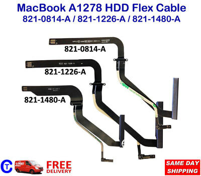 "OEM Apple MacBook Pro 13"" HDD Cable A1278 HDD 821-1480A, 821-1226A, 821-0814A"
