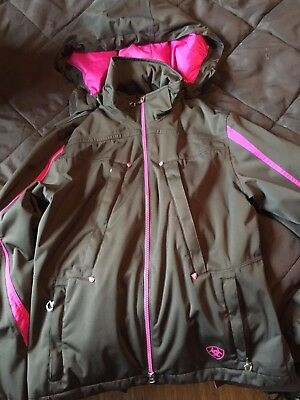 Small Ariat Pink and Brown Horse Riding Jacket