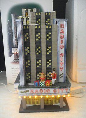 Dept 56 Christmas In The City Radio City Music Hall, Building #58924