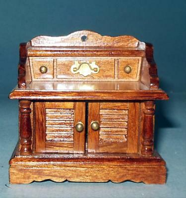 Pine Step Table Vintage Museum Collection #4137 Dollhouse Furniture Miniatures