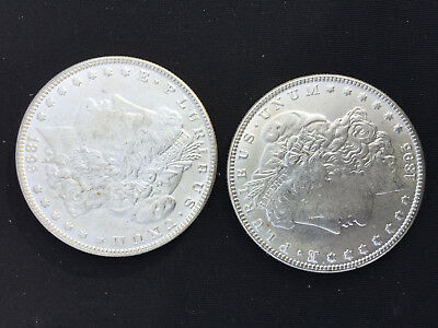 1895 Morgan Dollar -Two Face -Trick, Novelty Magic Coin - Heads on Both Sides