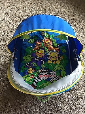 Fisher Price Bounce N Play Portable activity dome tent Travel Beach Outdoors