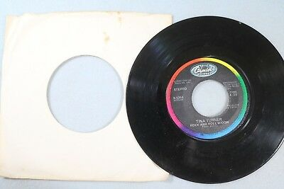 ''What's Love Got To Do With It'' by Tina Turner, 45 RPM (c) 1984 (Bx02-102)