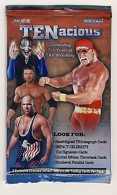 Tristar TNA TENacious Trading Cards - Wrestling Retail Pack WWE