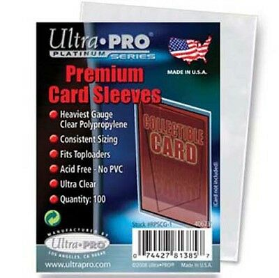 Ultra Pro Premium Card Sleeves - Platinum Series - Pack of 100