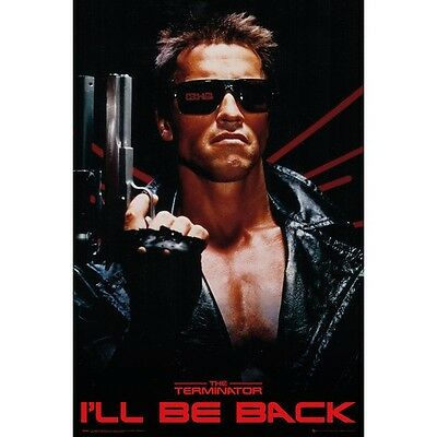 The Terminator - I'll Be Back - Arnold Movie Poster #1E