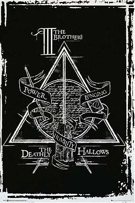 Harry Potter - Deathly Hallows Graphic - Movie Poster #2E