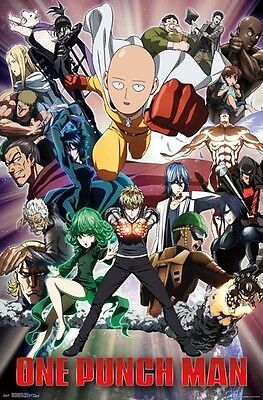 One Punch Man - Key Art 2 - Poster #1A