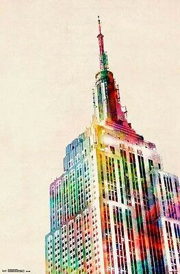 Empire State Building - Colour - Poster *