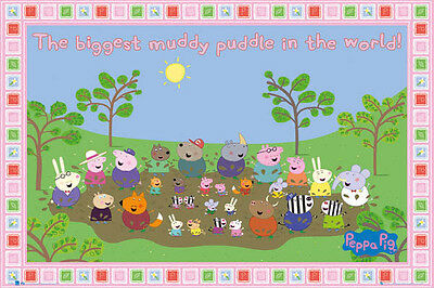 Peppa Pig - Biggest Muddy Puddle - Poster #1A