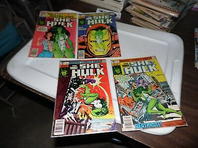 The Savage She Hulk lot of 4 books #2 #3 #6 and #9