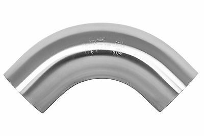 """3"""" 90 Degree 304 Stainless Steel Elbow Long Bend Weld Fitting"""