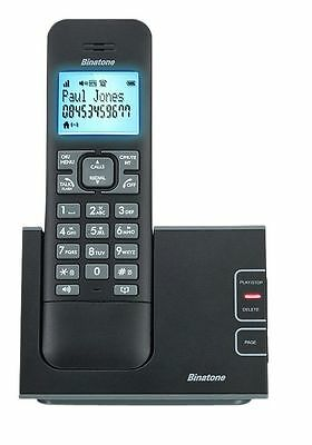 Binatone Defence Cordless Phone with Answer Machine - Single