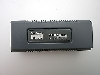 Cisco Ethernet POE Power Injector AIR-PWRINJ3 WITH Power adapter