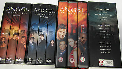 Angel-Collection - 44 Episodes - Seasons 1 & 2 -On 12 Tapes