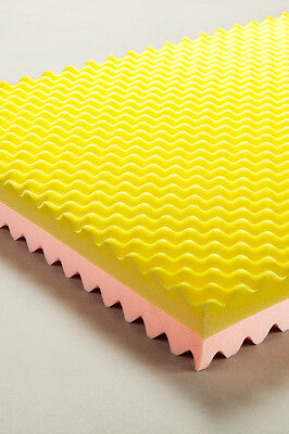 Cq Saf Overlay - Pink/yellow Single Bed Size Optimum Comfort, Uniform Pressure D