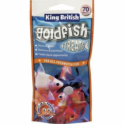 King British poisson rouge Friandise 40g (70 Friandise) Coldwater aquarium
