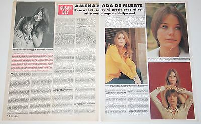 SUSAN DEY 2 page 1977 spain article David Cassidy The Partridge Family photos