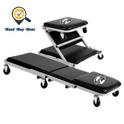 NEW! Pro-Lift Z-Creeper Seat, Vehicle Repair Tool, Easy Rolling Chair, Mechanics