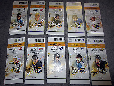 Pittsburgh Penguins vs Los Angeles Kings TICKET STUB 12-16-16 Game 17 Larouche
