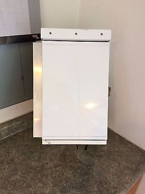 "10"" x 16"" x 8"" Aluminum Outdoor Traffic Cabinet Electrical Enclosure Rain Tight"