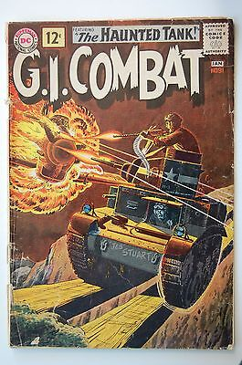 G.I. COMBAT #91 - 1st Haunted Tank Cover (GD/VG)