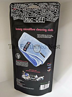 Muc-off luxury  Microfibre Cleaning Cloth  ** FREE GIFT + FREE P+P  WOW!!