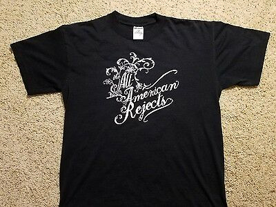 The All - American Rejects Concert / Promo T Shirt M