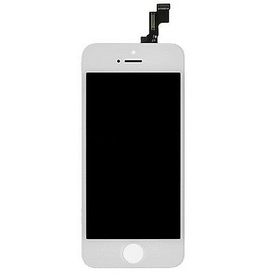 Apple iPhone 5S Replacement Full Front Screen LCD and Digitizer Assembly WHITE