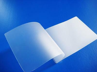 Heat Seal MATT Finish Clear Laminating Pouches . (Anti Glare) Transparent Sheets