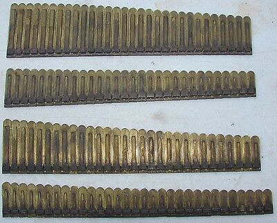 121 Brass Reeds from Smith American Pump Organ Antique Parts Crafts Repurpose