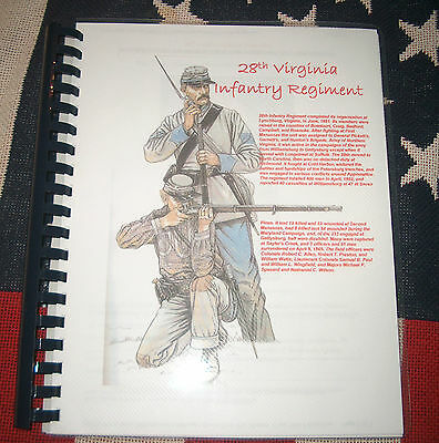 Civil War History of the 28th Virginia Infantry Regiment
