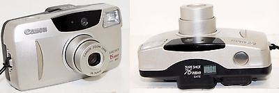 Canon Sure Shot 76 Zoom Date SAF 35mm Point & Shoot Film Camera w/ Strap