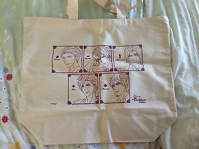 Voltage Inc Kissed By The Baddest Bidder Tote Bag RARE Anime Expo 2016