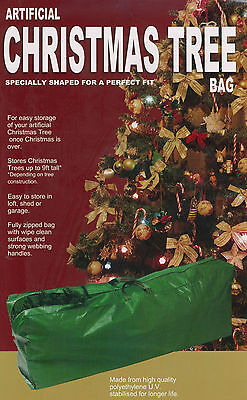 Christmas Tree Storage Bag Fits Up To 9ft Xmas Trees Light Weight Fully Zipped