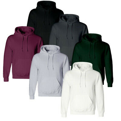 Men Women Hooded Sweatshirt Plain Design Overcoat Hoodie Blank Pullover Hoody