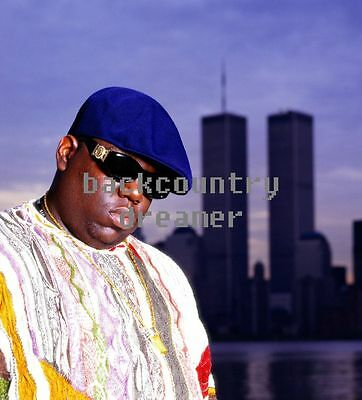 NOTORIOUS BIG Poster CC [Multiple Sizes] Rapper Hip Hop Old School Artist Print