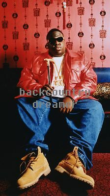 NOTORIOUS BIG Poster GG [Multiple Sizes] Rapper Hip Hop Old School Artist Print
