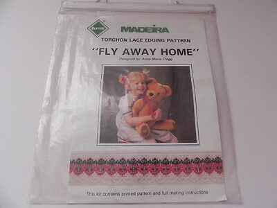 Madeira  Torchon Lace Edging Pattern - Fly Away Home